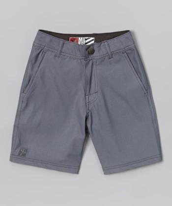 Micros Gray Tide Boardshorts - Boys