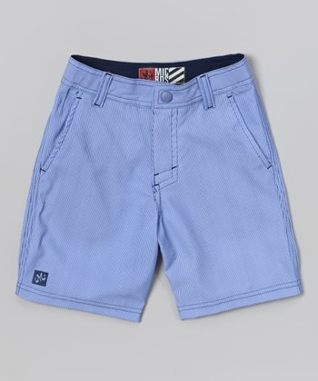 Micros Blue Special Blend Boardshorts - Boys