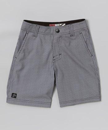 Micros Black Special Blend Boardshorts - Boys
