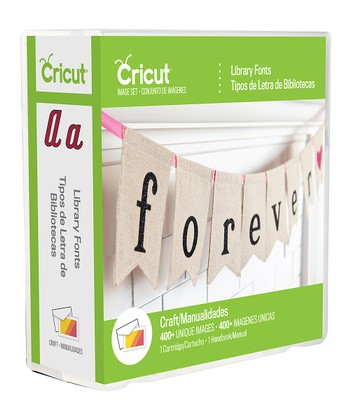 Library Fonts Cricut Cartridge