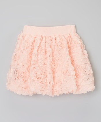 Pink Rosette Skirt - Toddler & Girls