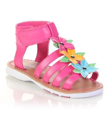 Pink Flower Egg Sandal