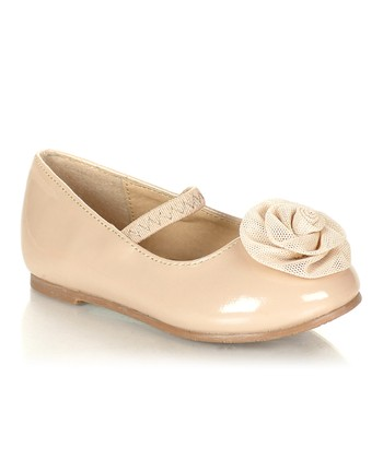 Natural Flower Laco Flat