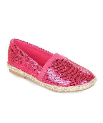 Fuchsia Fabi Slip-On Shoe