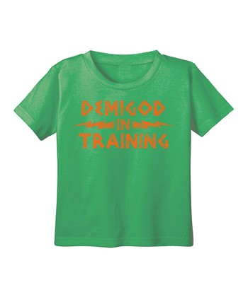 Grass 'Demigod in Training' Tee - Infant