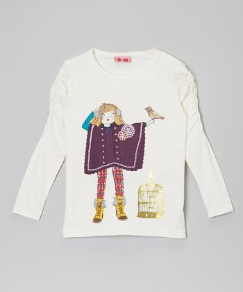 Vanilla Ice Diva Top - Toddler & Girls