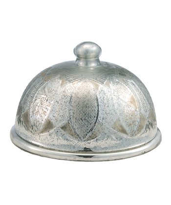 Antique Silver Cake Dome