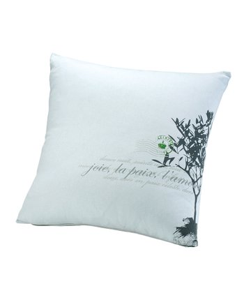 Gray L'Arbre Pillow