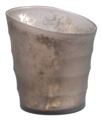 Small Gray Candleholder