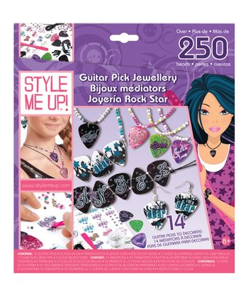 Guitar Pick Jewelry Kit