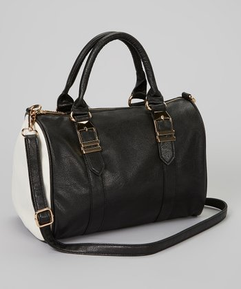 Black & White Satchel
