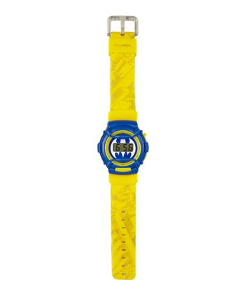 Yellow Batman Watch