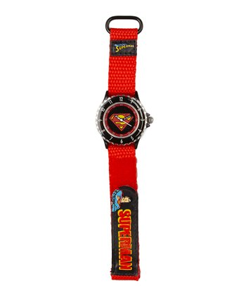 Red Superman Watch