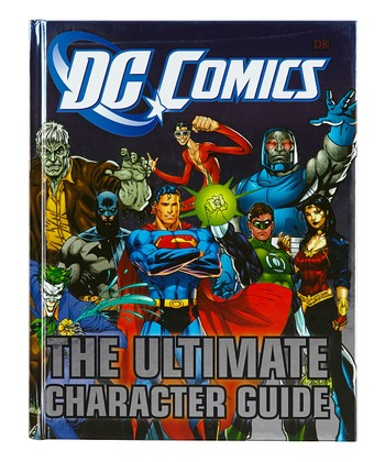DC Comics Ultimate Character Guide Hardcover