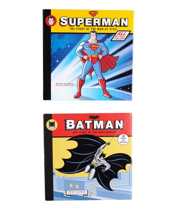 Superman & Batman Hardcover Set