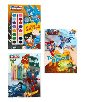 Superhero Activity Book Set