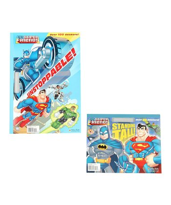 DC Super Friends Standing Tall & Unstoppable Paperback Set