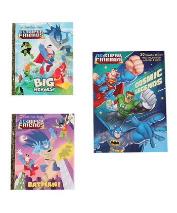 DC Super Friends Big Heroes Hardcover Set