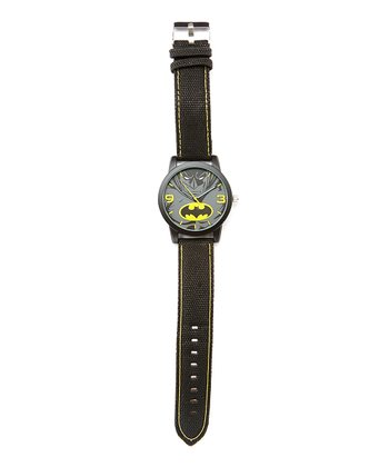 Batman Black Analog Watch