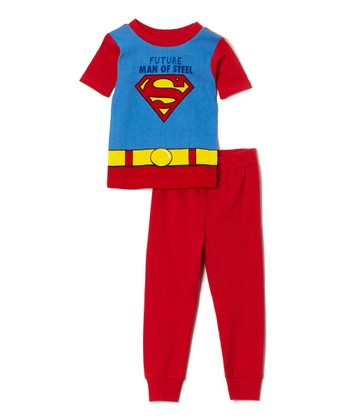 'Future Man of Steel' Superman Pajama Set - Toddler