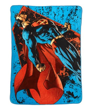 Flying Superman Throw