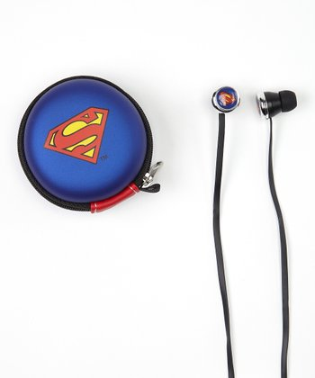 Superman Microphone Earbuds