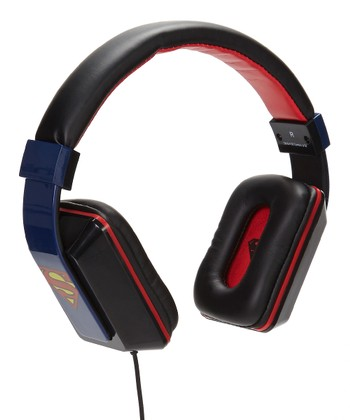 Superman Microphone Headphones