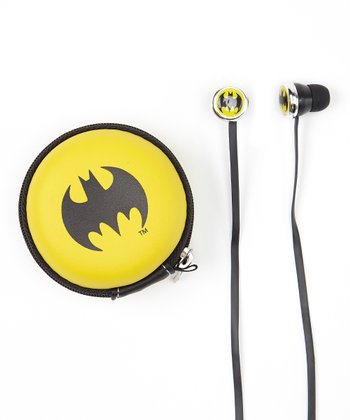 Batman Microphone Earbuds