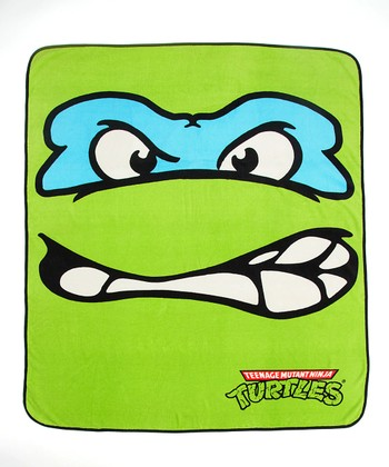 Teenage Mutant Ninja Turtles Leonardo Throw Blanket