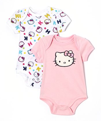 Pink Hello Kitty Bodysuit Set - Infant
