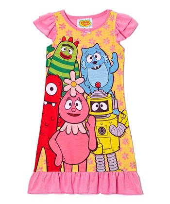 Pink Yo Gabba Gabba! Nightgown - Toddler
