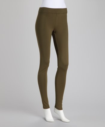 Dark Olive Leggings