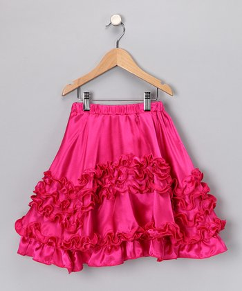 Raspberry Skirt - Girls