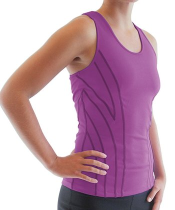 Sugar Plum Hypnotic Racerback Tank - Women & Plus