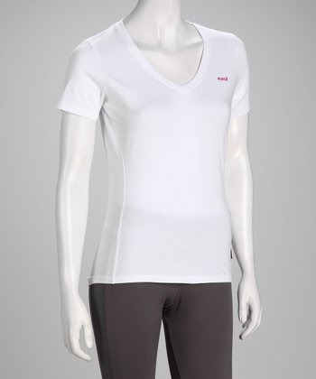 White Fit Short-Sleeve Tee - Women & Plus