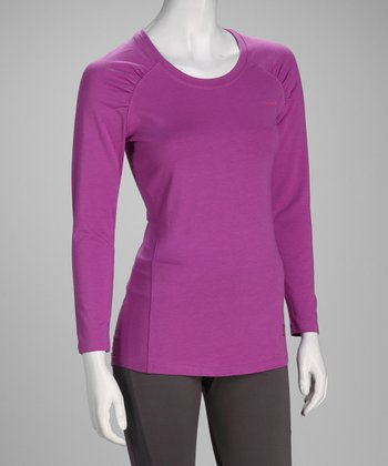 Sugar Plum Fit Long-Sleeve Tee - Women & Plus
