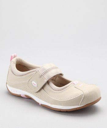 White Sport Comfort Mary Jane