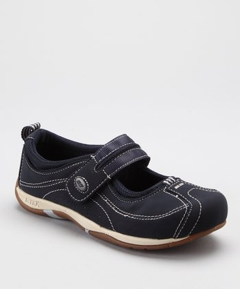 Navy Sport Comfort Mary Jane