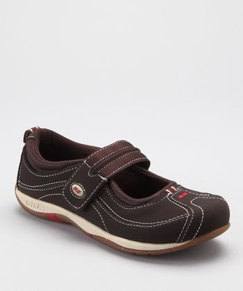 Dark Brown Sport Comfort LO Mary Jane - Women