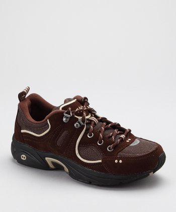 Brown Suede RTC Walk Outdoor LO Walking Shoe - Women