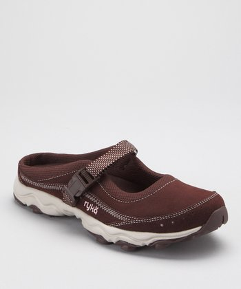 Brown Outdoor LO Mule - Women
