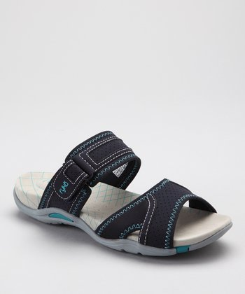 Navy Essence Slide - Women