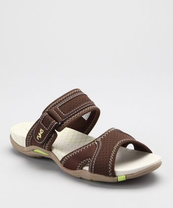 Brown Essence Slide - Women