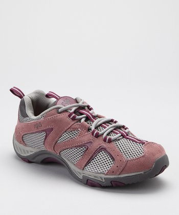 Mauve Outdoor Lo Light Hiking Shoe