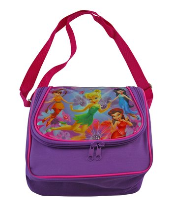 Pink & Purple Tinkerbell Pixie Hollow Lunch Bag