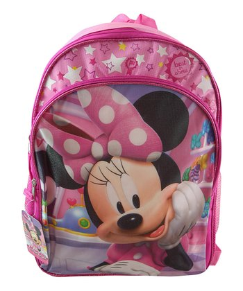 Pink Minnie Mouse 'Best in Show' Backpack