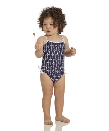 Navy Ania One-Piece - Infant