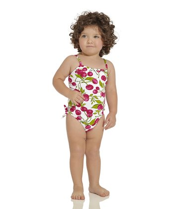 Red & Green Rio One-Piece - Infant