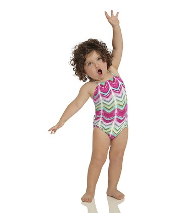 Pink Silktrai Halter One-Piece - Infant