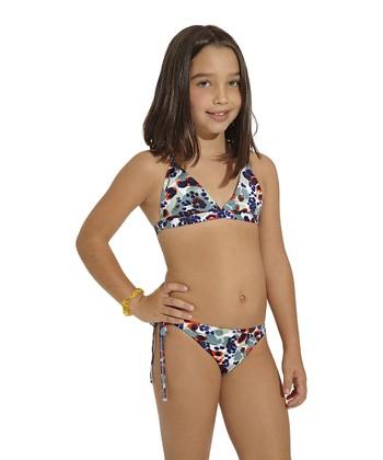 Blue Persia Bikini - Toddler & Girls